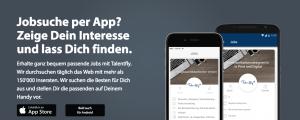 Job-App talentfly live in der Schweiz