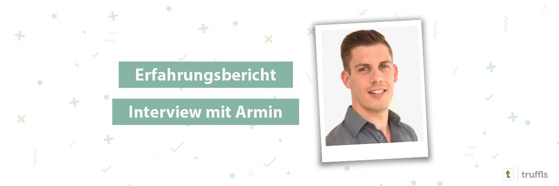 Erfahrungsbericht, Armin