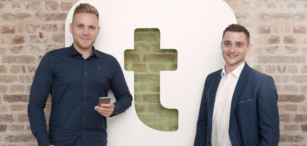 Matthes Dohmeyer & Clemens Dittrich, Gründer und Geschäftsführer der Truffls GmbH