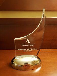 Der Award: truffls holt Platz 1 auf dem #HRTechDay in Düsseldorf